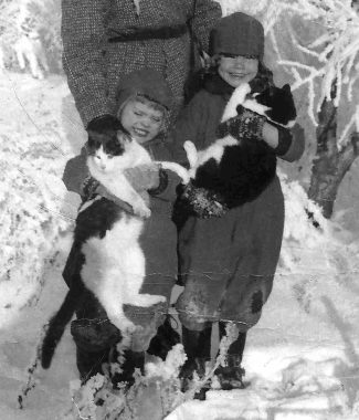 Cats - Early Years - Montana, Arkansas, Japan